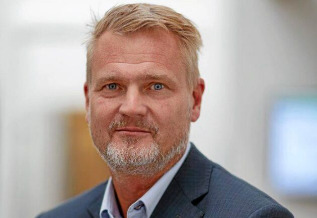 Patrik Hansson, VD för Arla Sverige.
