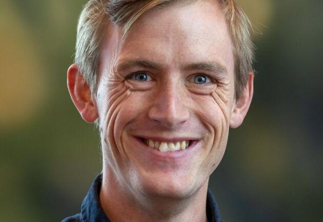Oskar Gustavsson, forskare på Skogforsk.