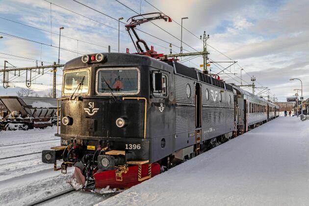 En rad EU-regler hindrar tågbolagen från att köra utrikes.