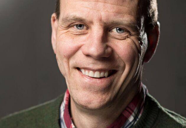 Klas Flygare, direktör för råvara och bioprodukter på Setra.