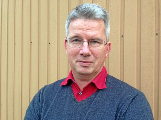 Per Pettersson, ordförande för LRF Mälardalen och lantbrukare i Södertälje kommun.