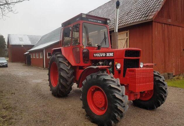 En lantbrukare i Dalsland vill testa marknaden med ett fint exemplar av en Volvo BM 2654.