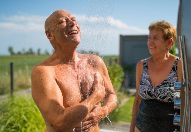 Vid ökande ålder blir förmågan hos kroppen sämre på att reglera temperaturen.