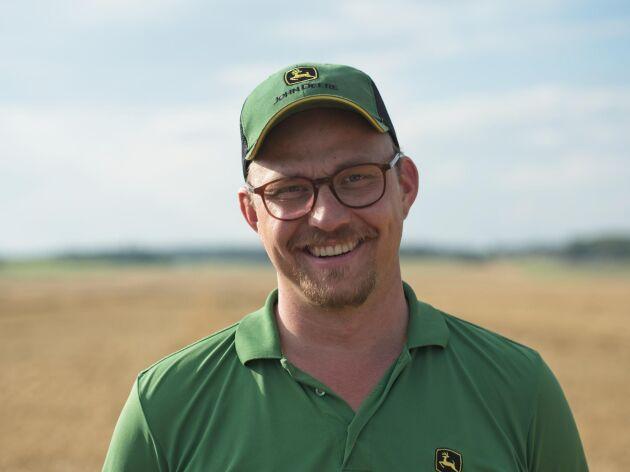 Emil Stolpe-Nordin, regionchef för Sverige.