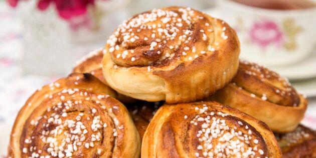 Kanel- och kardemummabullar – godaste receptet