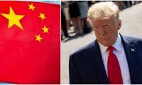 Trump tror på ett kort handelskrig med Kina