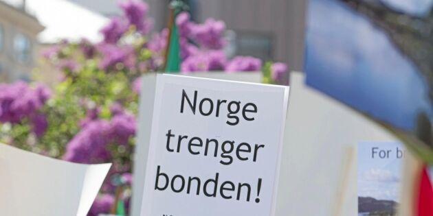 Krispengar till norska bönder