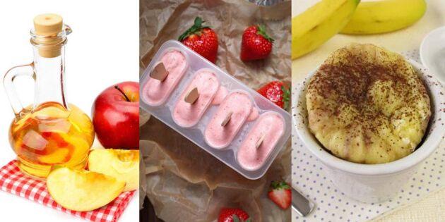 Kasta inte! 9 goda recept på övermogen frukt