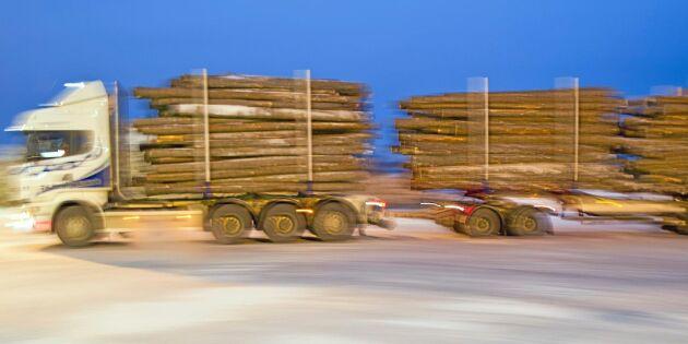 Olönsamt med 74 ton – vägnätet för litet