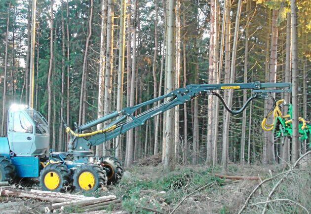 Novotnys första skördare, H50, går nu som prototyp i Tjeckien.