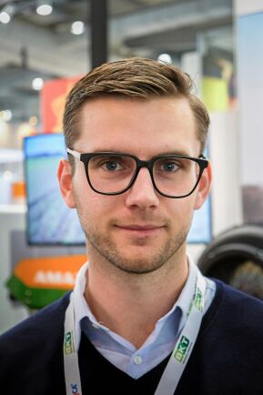 Frederik Rom, produktchef på Agrointelli.
