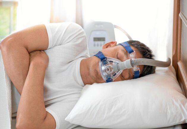 En andningsmask kan hjälpa.