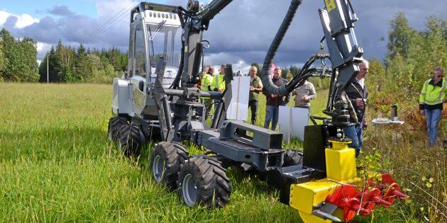 Brist på arbetskraft ökar behovet av maskinell röjning
