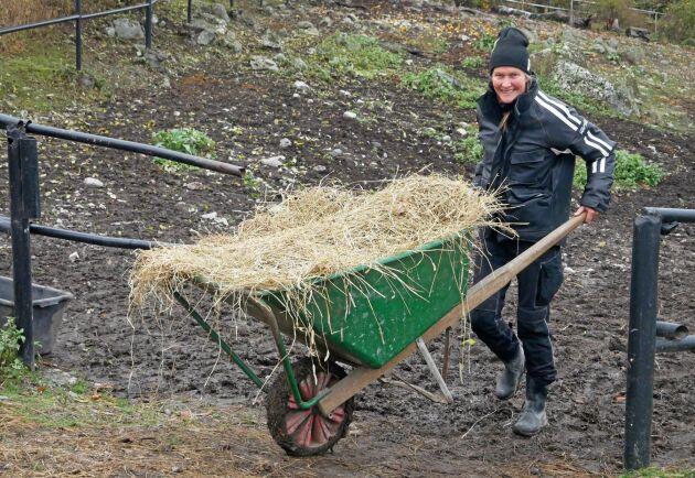 Ulrika Riesterers farfar köpte Ådö Säteri, och det blir hennes båda barn som kommer att driva den vidare.