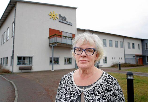 Skolans rektor Elisabeth Bringer Hallberg hoppas få en vettig förklaring till varför branden bröt ut.