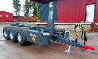 Nya drivna växlare och vagnar