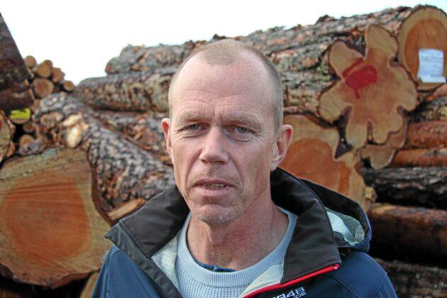 Ulf Gustavsson, råvaruchef, Fiskarheden Trävaru AB.