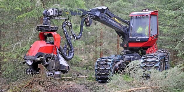 Norra har brist på avverkningsentreprenörer