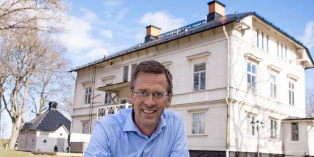 """Föreläsaren Teo Härén: """"Servicen på landsbygden har aldrig varit bättre"""""""