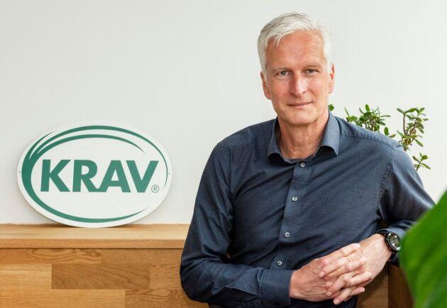 Kravs nytillträdda lantbrukschef, Jonas Carlberg.