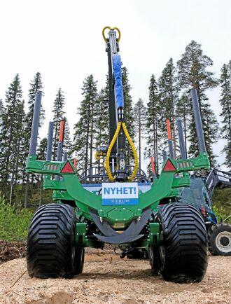Farma T144WD visades upp på Skogsnolia.