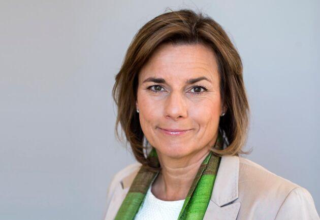 Klimat- och biståndsminister Isabella Lövin (MP).