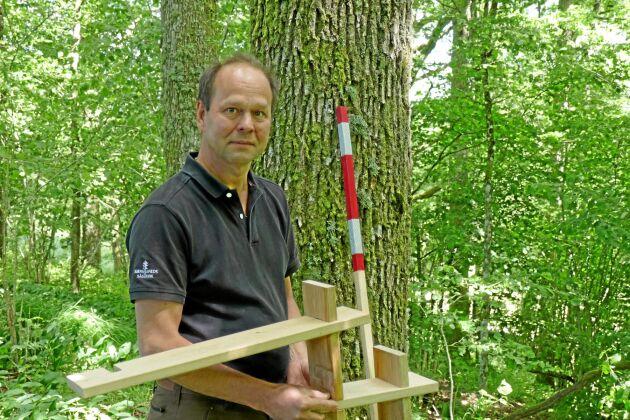 Det är stor efterfrågan på ek både Sverige och övriga Europa menar Stefan Karlsson på Bjernereds sågverk i Halland.