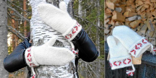 Sticka mysiga lovikkavantar till hela familjen – perfekt julklapp!