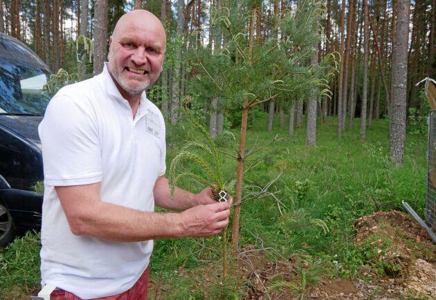 Johan Larsson kom på idén under en biltur, och har nu ägnat de senaste sex åren åt att utveckla och testa sin produkt.