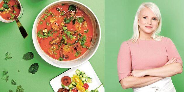 Sveriges Mästerkocks bästa recept: Grymt god gazpacho