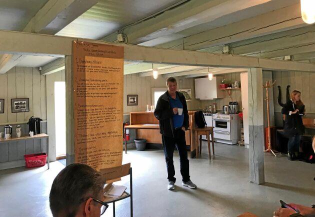 LRF bjöd in riksdagspolitiker till ett möte där de fick träffa markägare och lära sig mer om hur mineralexploatering handläggs och påverkar.