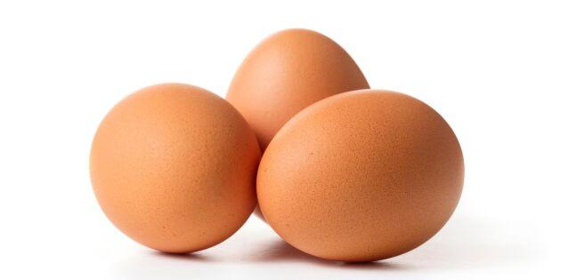 Färre köper KRAV-märkta ägg