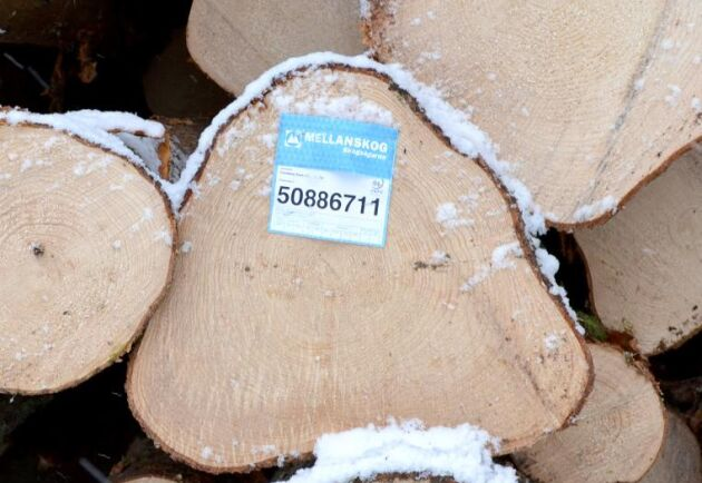 Mellanskog sänker timmerpriserna och för nya avverkningsuppdrag beräknas priset vid avverkningstillfället.