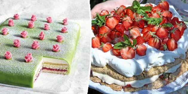 Sommarens godaste tårtor – recept som räcker till många