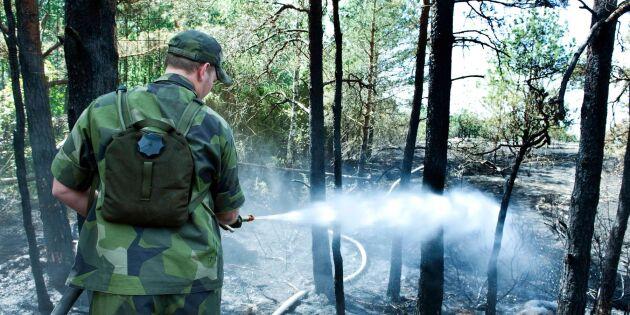 Detta gäller för skogsägare drabbade av brand