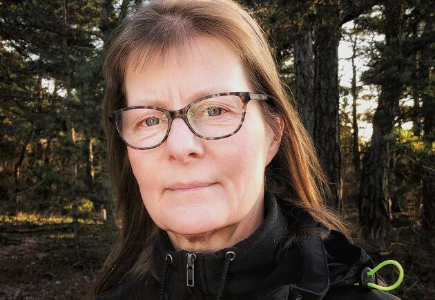 Karin Wågström på Skogsvårdsstyrelsen oroas över utbrotten av rotröta.