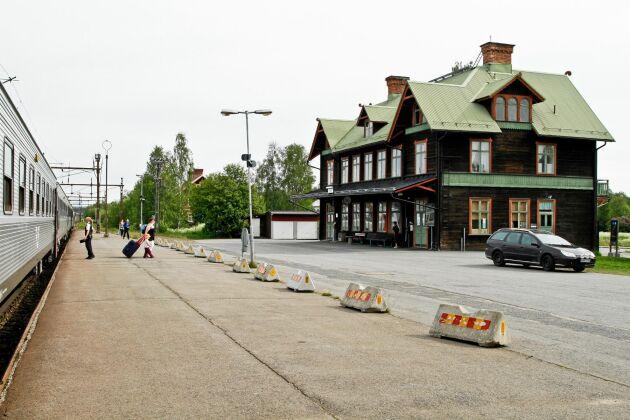 Stationshuset i Jörn har utsetts till Sveriges vackraste.