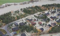 Stora översvämningar drog med sig djurstall