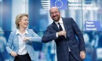 Inget obligatoriskt stödtak i EU-budget