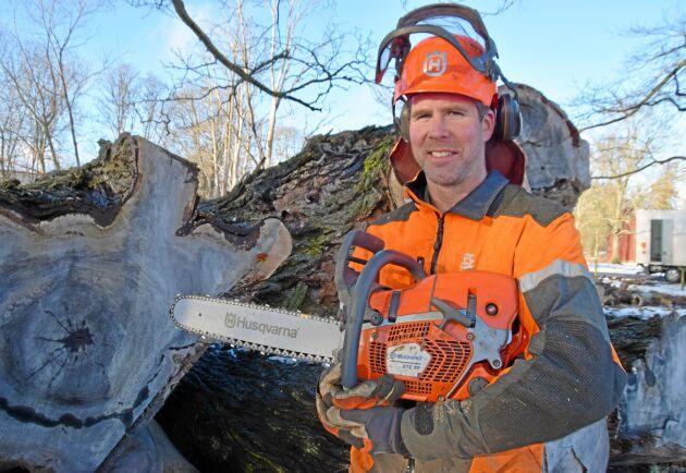 Erik Hjärtfors föredrar blandskog.