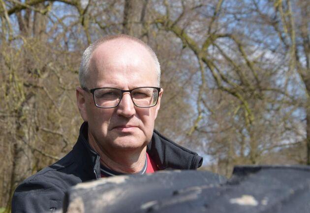 Palle Borgström, förbundsordförande för LRF, vill se snabba åtgärder från staten.