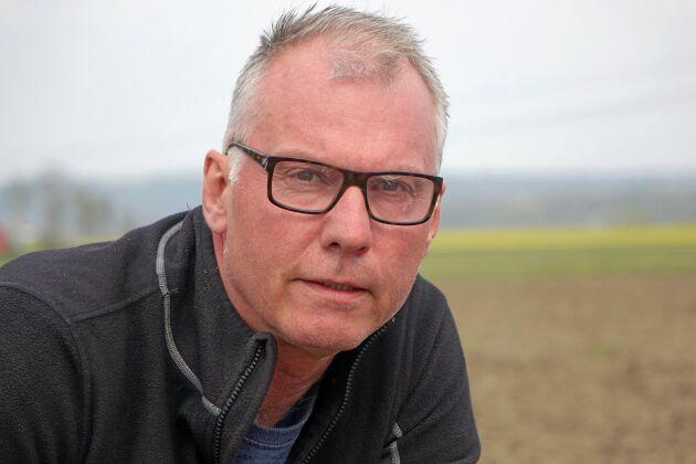 Ulf Wäktare, lantbrukare utanför Bjuv.