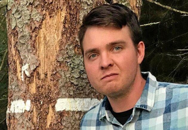 """""""Det finns en passivitet och en ovilja att tag i problemen"""", säger Carl-Wiktor Svensson om problemet med spridning av granbarkborre från avsatt mark."""