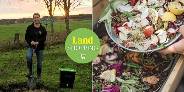 Bokashi på vintern – preppa för vårens odling med egen kompost