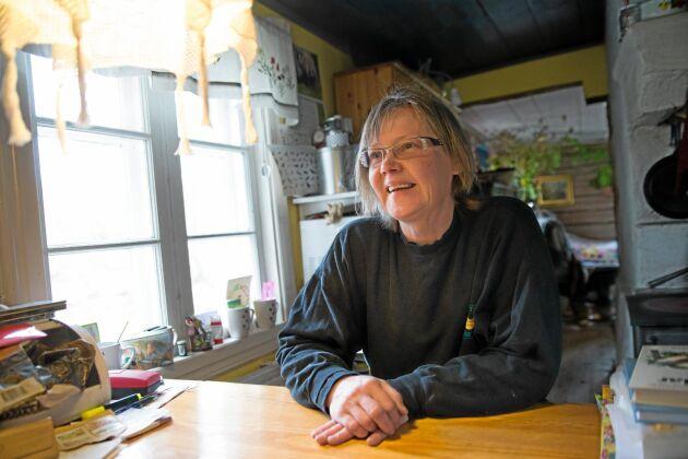 Ann Andersson driver levande genbank på en gård utanför Örebro.