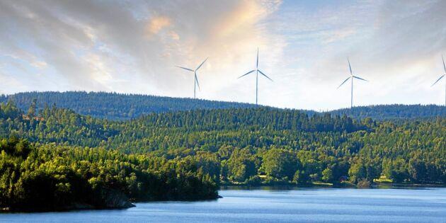 Mer kärnkraft, mindre vind och vatten