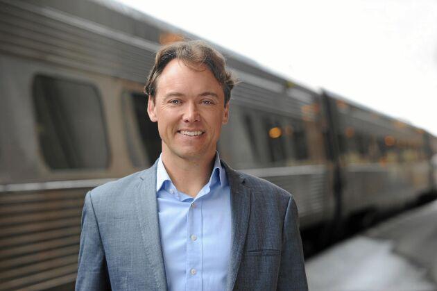 Tågluffarproffset Dan Olofsson jobbar på SJ.