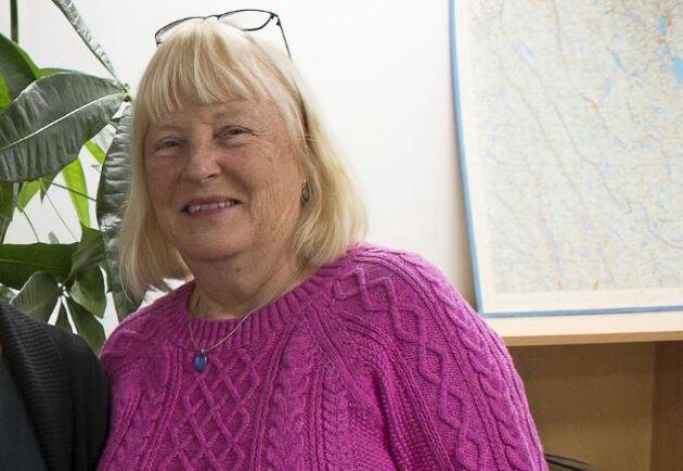 Längst till höger: Anita Lundmark på länsstyrelsen i Dalarna.