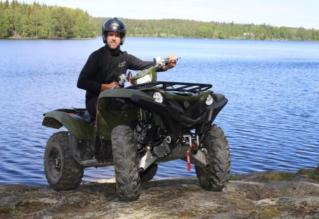 Yamaha Grizzly 700 fungerar bra till både nytta och nöje, enligt ATL:s ATV-expert Per Johansson.