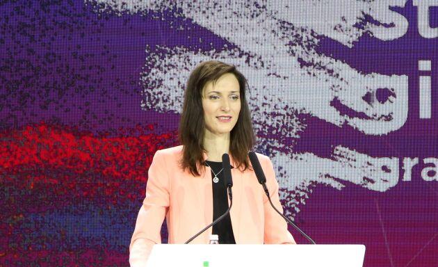 Mariya Gabriel pekas ut som het kandidat att ta över posten som EUs jordbrukskommissionär efter irländaren Phil Hogan.